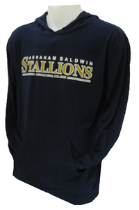 Shirt L/S W/Hood Abr Bal Agr Clg Stallions In Gold