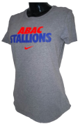 Ladies Shirt With Abac Over Stallions