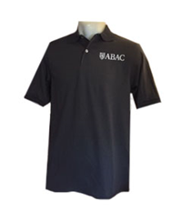 Polo with Shield ABAC White Embroidery