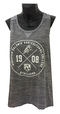 Ladies Tank Circle Design Featuring All ABAC Logo