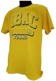 Tennis Shirt with ABAC in Green outlined in White