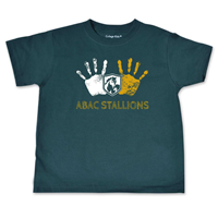 Shirt Youth ABAC Stallions Hand Prints