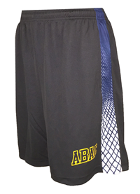 Shorts ABAC in Gold with Lattice Panel