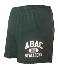 Soffee Shorts ABAC Stallions in White