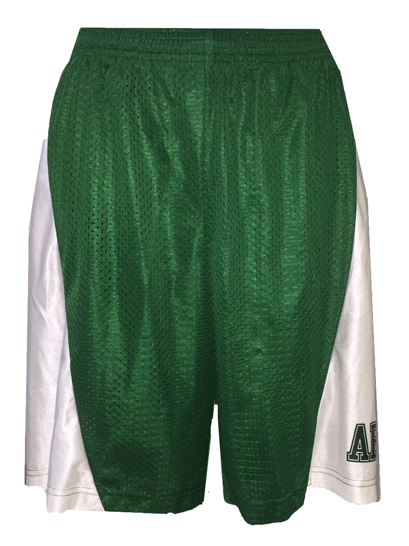 Mens Basketball Shorts with Mesh Front ABAC on Left Leg (SKU 1003539914)