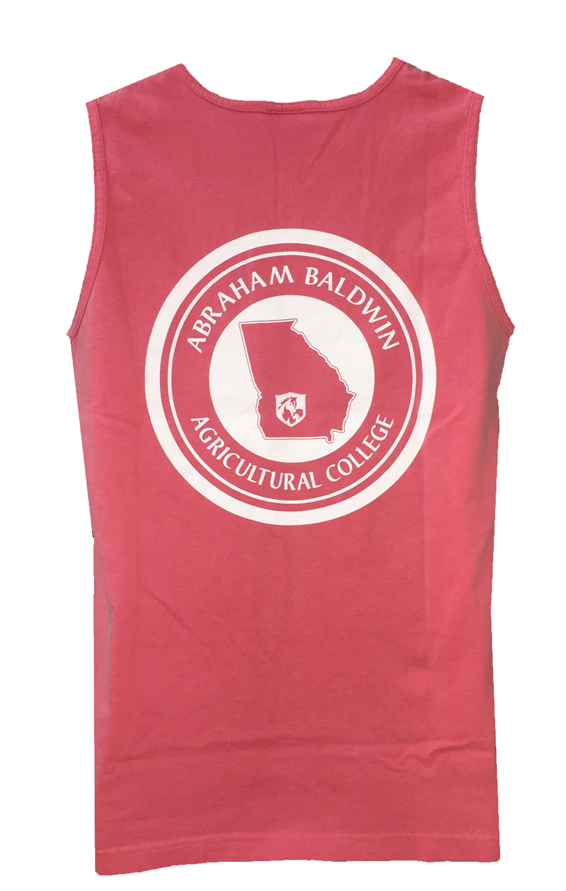 Unisex Tank with College Name and Circle State Design (SKU 101360582)