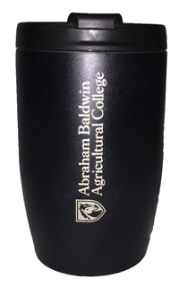 10oz Tumbler, Textured Finish, Black Abr Bld Agr Clg with Shield