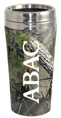 Camo Tumbler ABAC Vertical in White